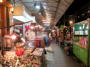 Chiang Mai Night Bazaar Street