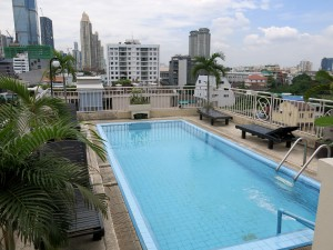 pool, swimming, roof, Thailand, Bangkok, Saint View